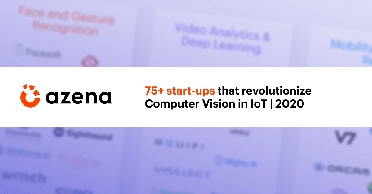 Computer Vision Startups