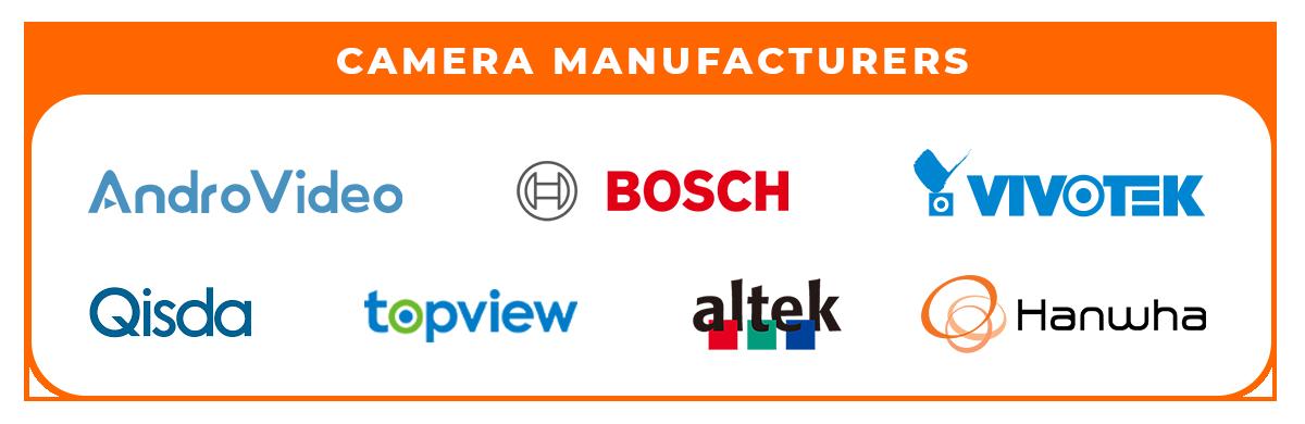 camera manufacturers info