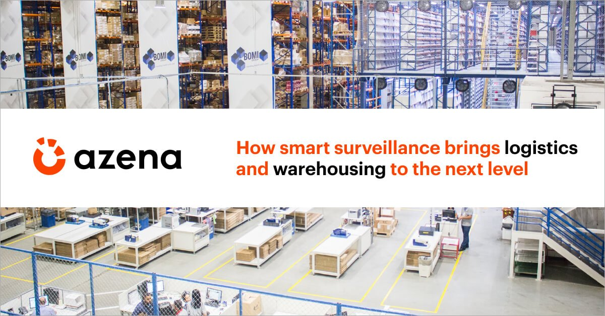 Warehousing smart surveillance Azena