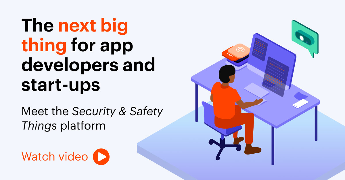 become a security & safety things developer partner