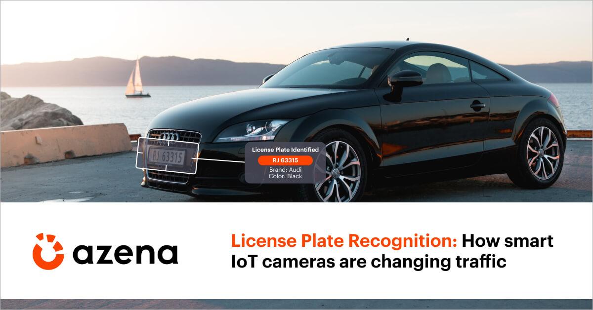 License plate recognition Azena